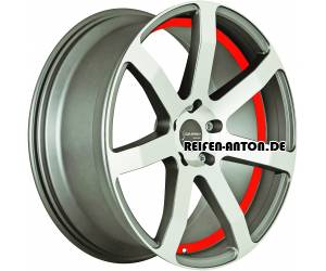 Corspeed Challenge 8,5x19 ET45 5x112 Highgloss Gunmetal Polished Undercut Trim Rot