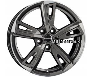 Borbet BU1 8x19 ET40 5x112 Mistral Anthracite Glossy Polished