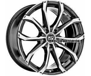 MSW 48 10x21 ET40 5x120 Gloss Black Full Polished