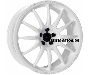 Team Dynamics Pro Race 1.2 7x17 ET38 4x100 Racing Weiss