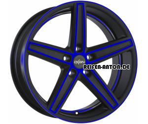 Oxigin 18 Concave 9x21 ET28 5x112 Blue Polish Matt HD