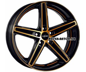 Oxigin 18 Concave 10x22 ET45 5x108 Gold Polish HD