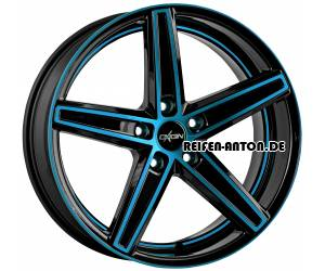 Oxigin 18 Concave 9x21 ET40 5x108 Light Blue Polish HD