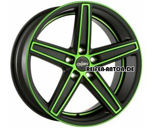 Oxigin 18 Concave 11,5x21 ET50 5x120 Neon Green Polish Matt HD