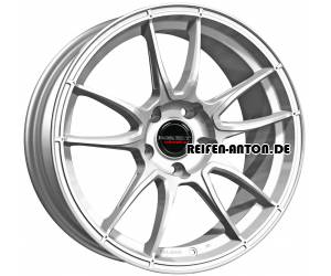 Borbet MC 10x19 ET40 5x130 Brilliant Silver