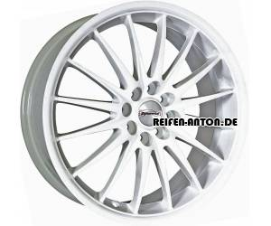 Team Dynamics Jet 7x17 ET38 4x98 Racing Weiss