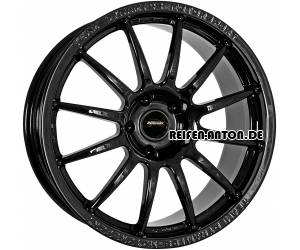 Team Dynamics Pro Race 1.2 7x17 ET25 4x98 Schwarz Glanz