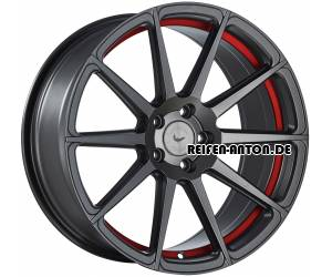 Barracuda Project Two 8,5x19 ET45 5x112 Matt Gunmetal Undercut Colour Trim Rot