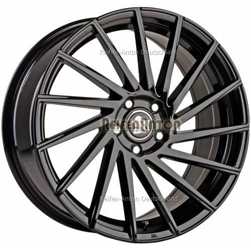 ultra wheels storm ua9r 8 5x20 et35 5x112 black. Black Bedroom Furniture Sets. Home Design Ideas