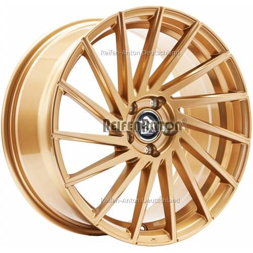 ultra wheels storm ua9l 8 5x19 et45 5x112 gold alufelgen. Black Bedroom Furniture Sets. Home Design Ideas