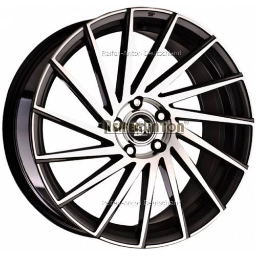 ultra wheels storm ua9l 8x18 et47 5x112 gunmetal polished. Black Bedroom Furniture Sets. Home Design Ideas