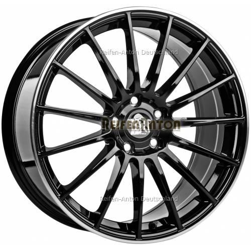 ultra wheels speed ua4 8x18 et48 5x112 schwarz rand. Black Bedroom Furniture Sets. Home Design Ideas