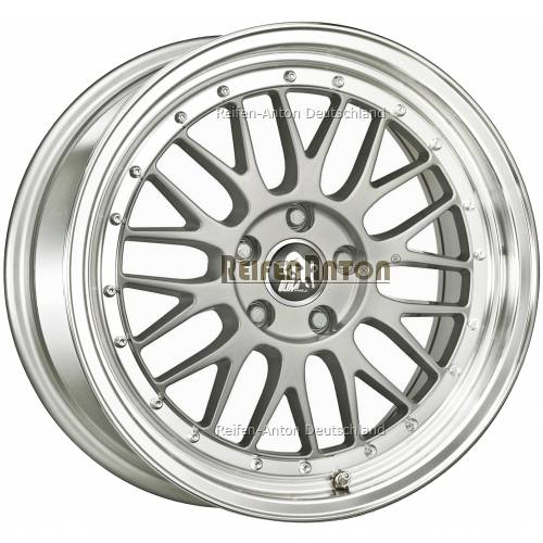 ultra wheels lm ua3 8 5x20 et35 5x120 silber horn poliert. Black Bedroom Furniture Sets. Home Design Ideas