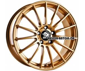 ultra wheels speed ua4 8x18 et48 5x112 gold alufelgen. Black Bedroom Furniture Sets. Home Design Ideas