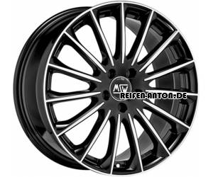 MSW 30 8,5x20 ET53 5x112 Gloss Black Full Polished